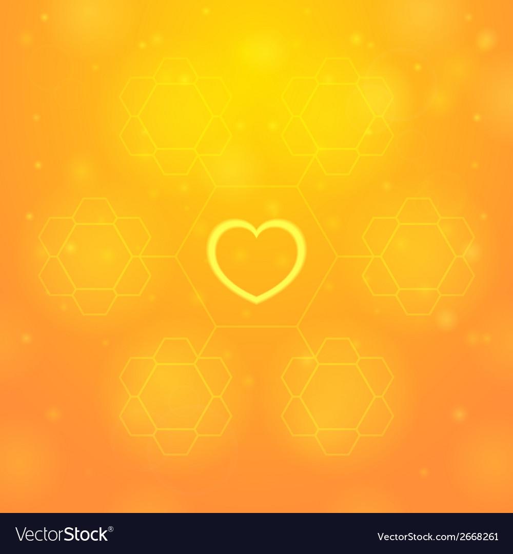 Orange heart vector   Price: 1 Credit (USD $1)