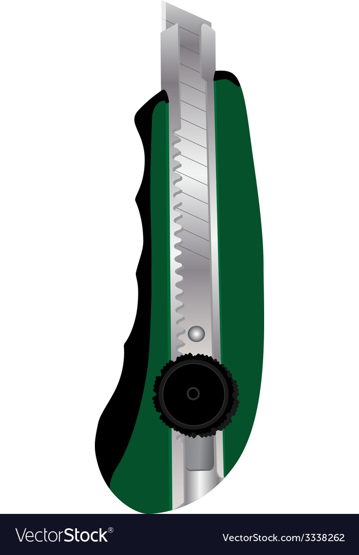 Cutter knife vector | Price: 1 Credit (USD $1)