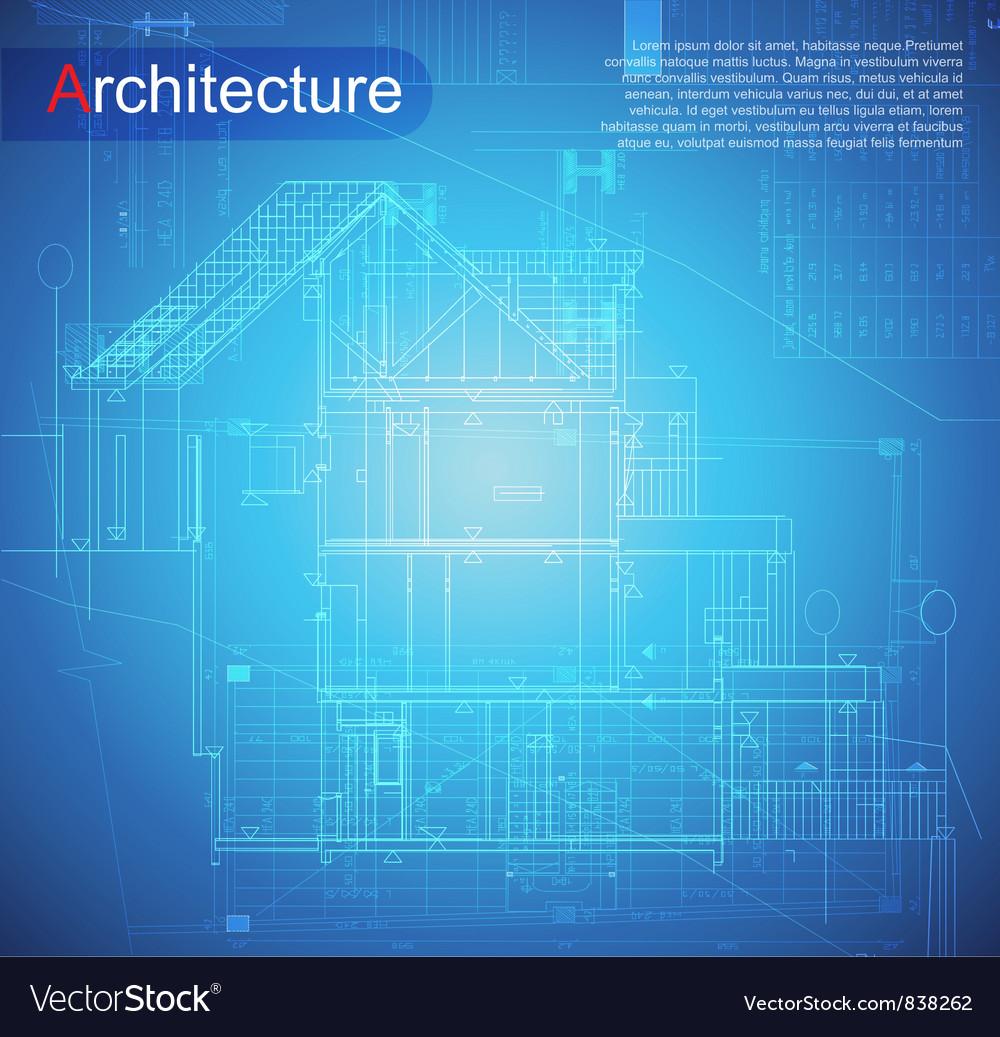 Urban blueprint vector | Price: 1 Credit (USD $1)