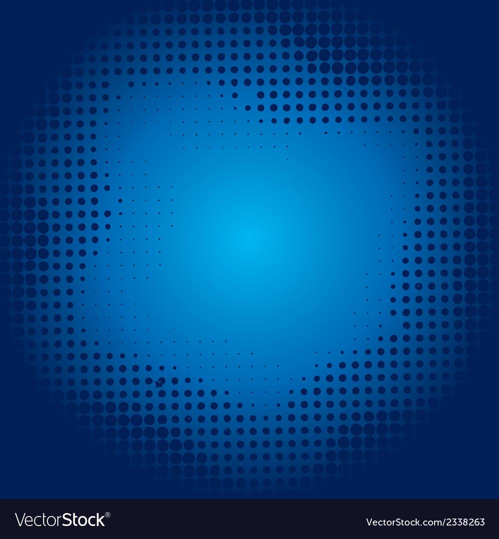 Blue halftone background vector | Price: 1 Credit (USD $1)