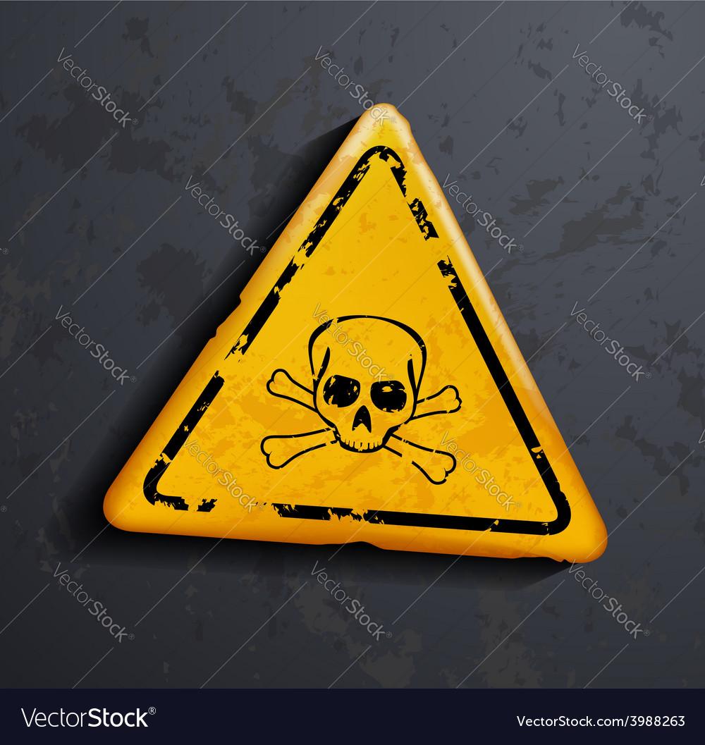 Danger sign vector | Price: 1 Credit (USD $1)