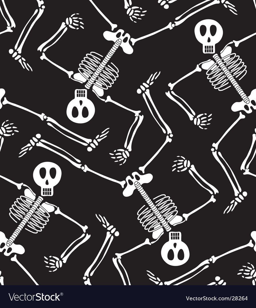 Skeleton pattern vector