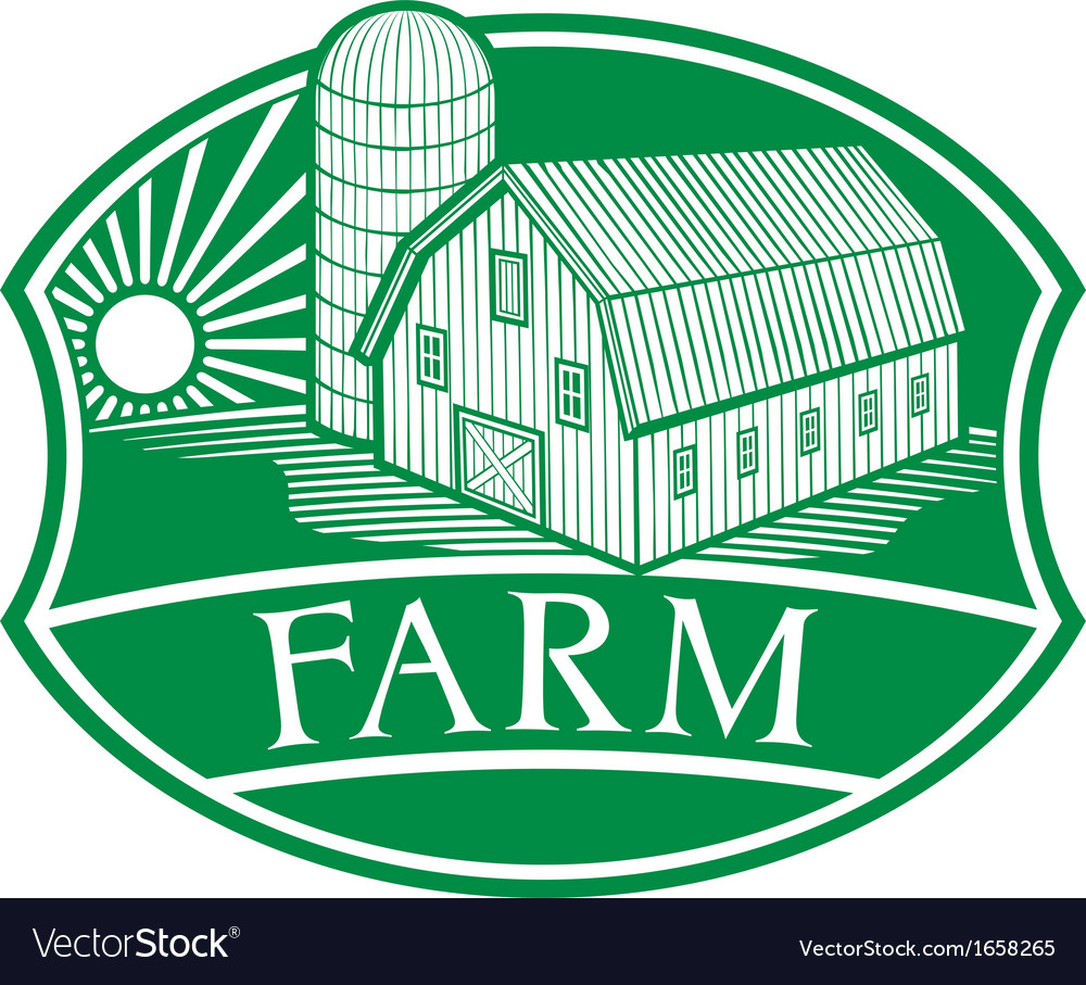 Farm symbol vector | Price: 1 Credit (USD $1)