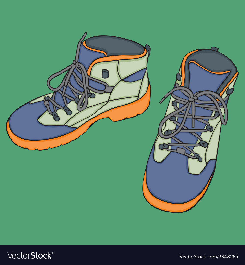 Isolated shoes vector | Price: 1 Credit (USD $1)