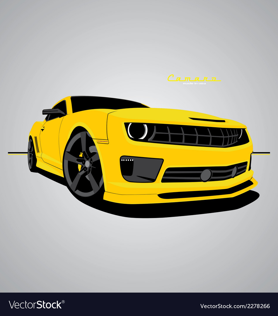 Camaro vector | Price: 1 Credit (USD $1)
