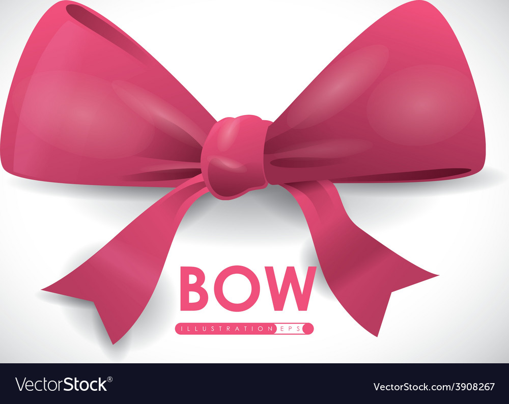 Bow decoration vector | Price: 1 Credit (USD $1)