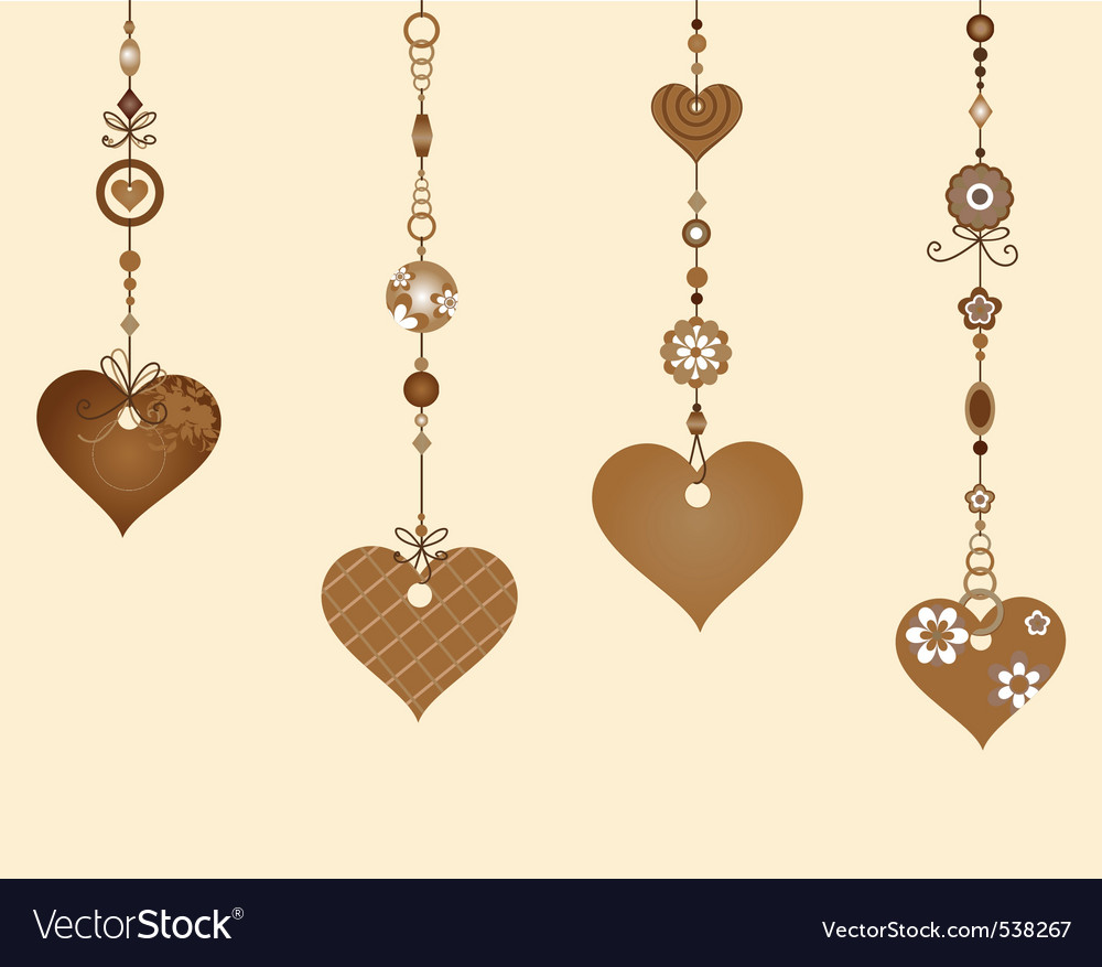 Decorative wind chimes vector | Price: 1 Credit (USD $1)