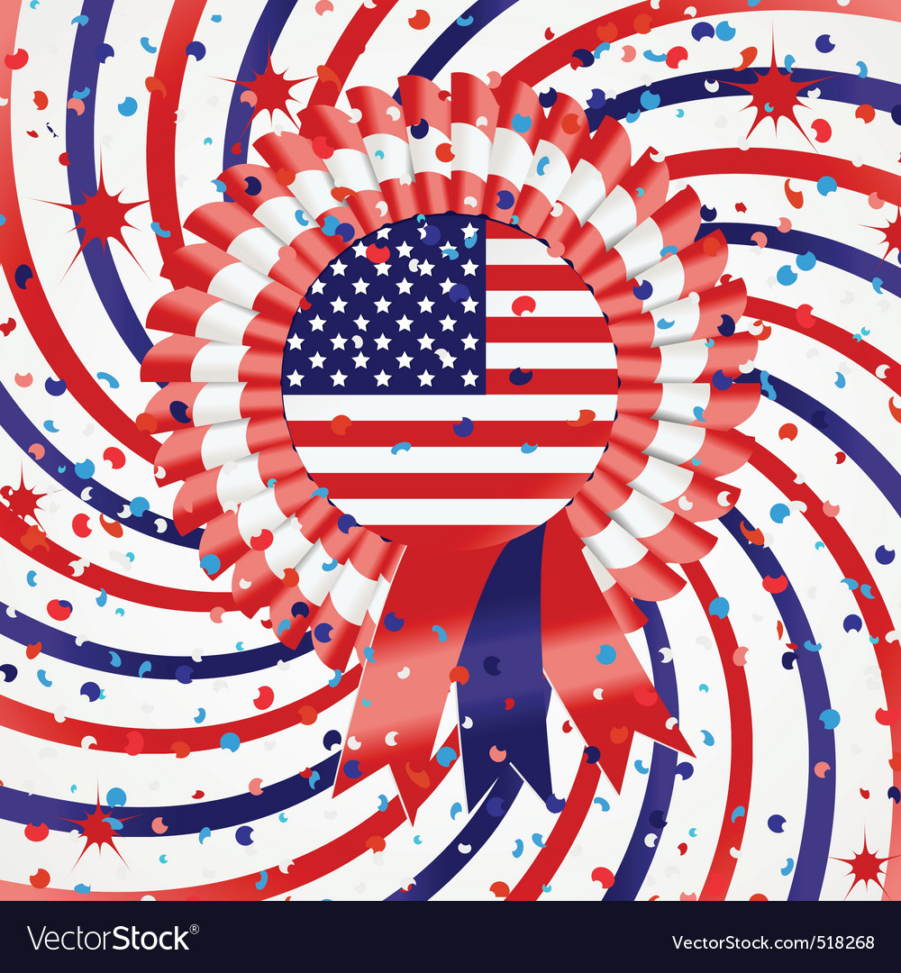 4th july celebration vector | Price: 1 Credit (USD $1)