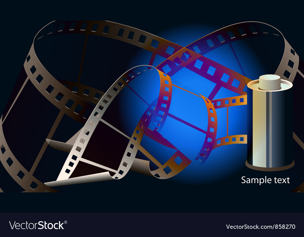 Abstract film strip background vector | Price: 1 Credit (USD $1)