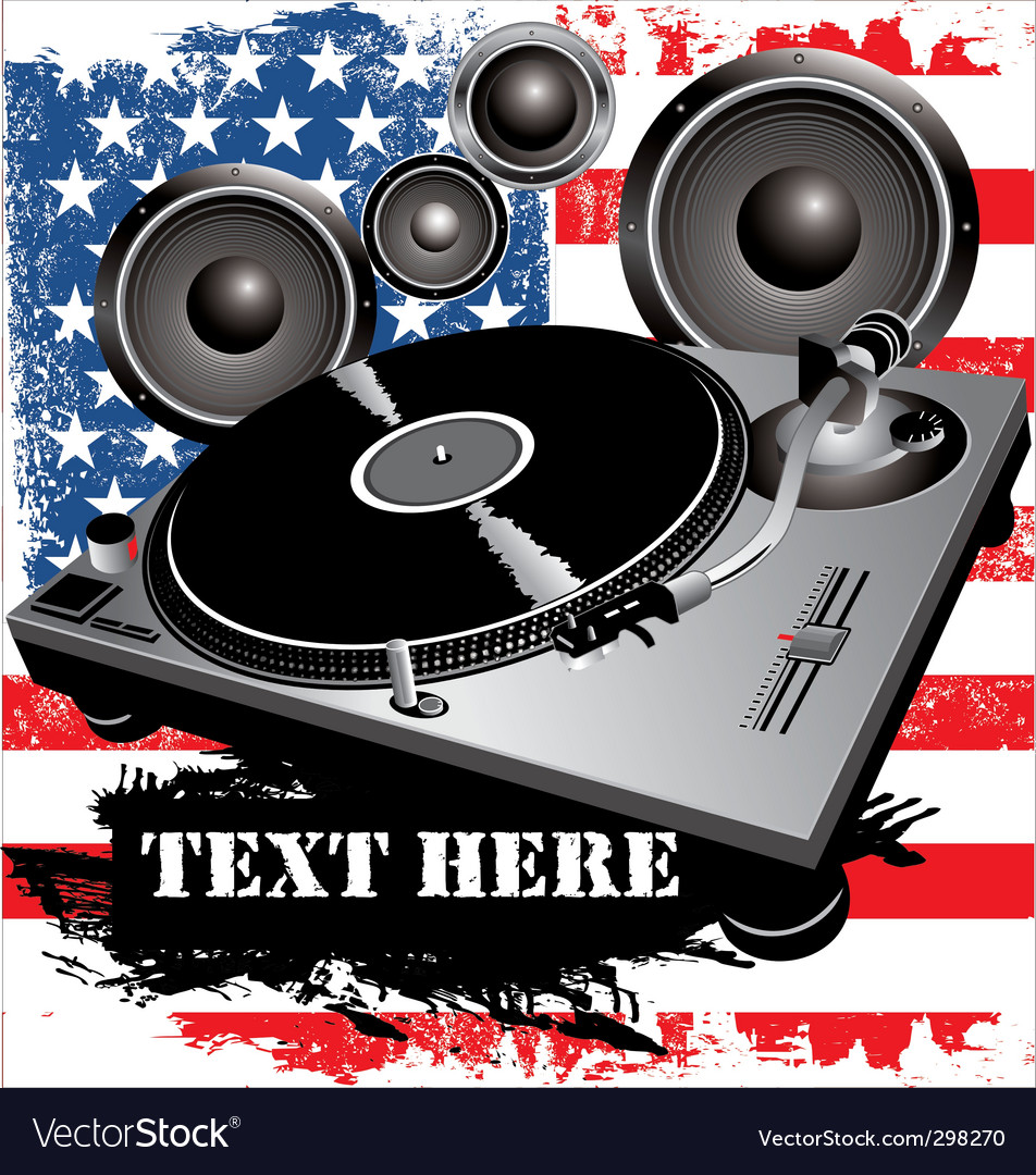 Dj party vector | Price: 1 Credit (USD $1)