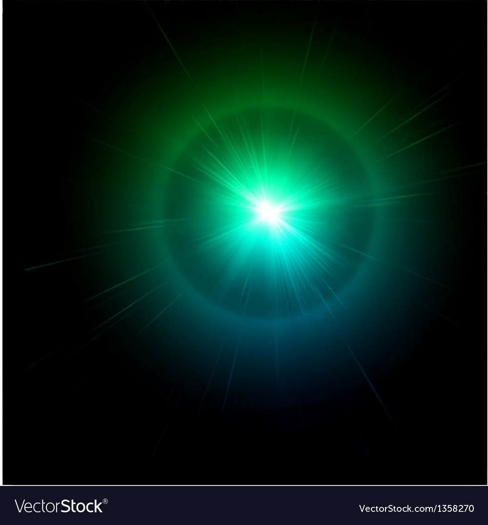 Light flare blue effect vector   Price: 1 Credit (USD $1)