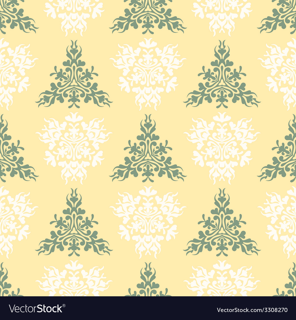 Seamless heraldic pastel color pattern with blazon vector | Price: 1 Credit (USD $1)