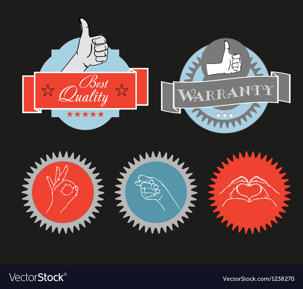 Vintage shopping labels and logo clip-art vector | Price: 1 Credit (USD $1)