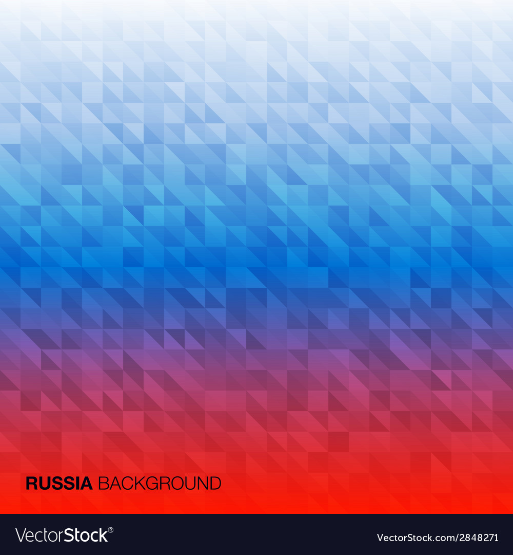 Abstract background using russia flag colors vector | Price: 1 Credit (USD $1)