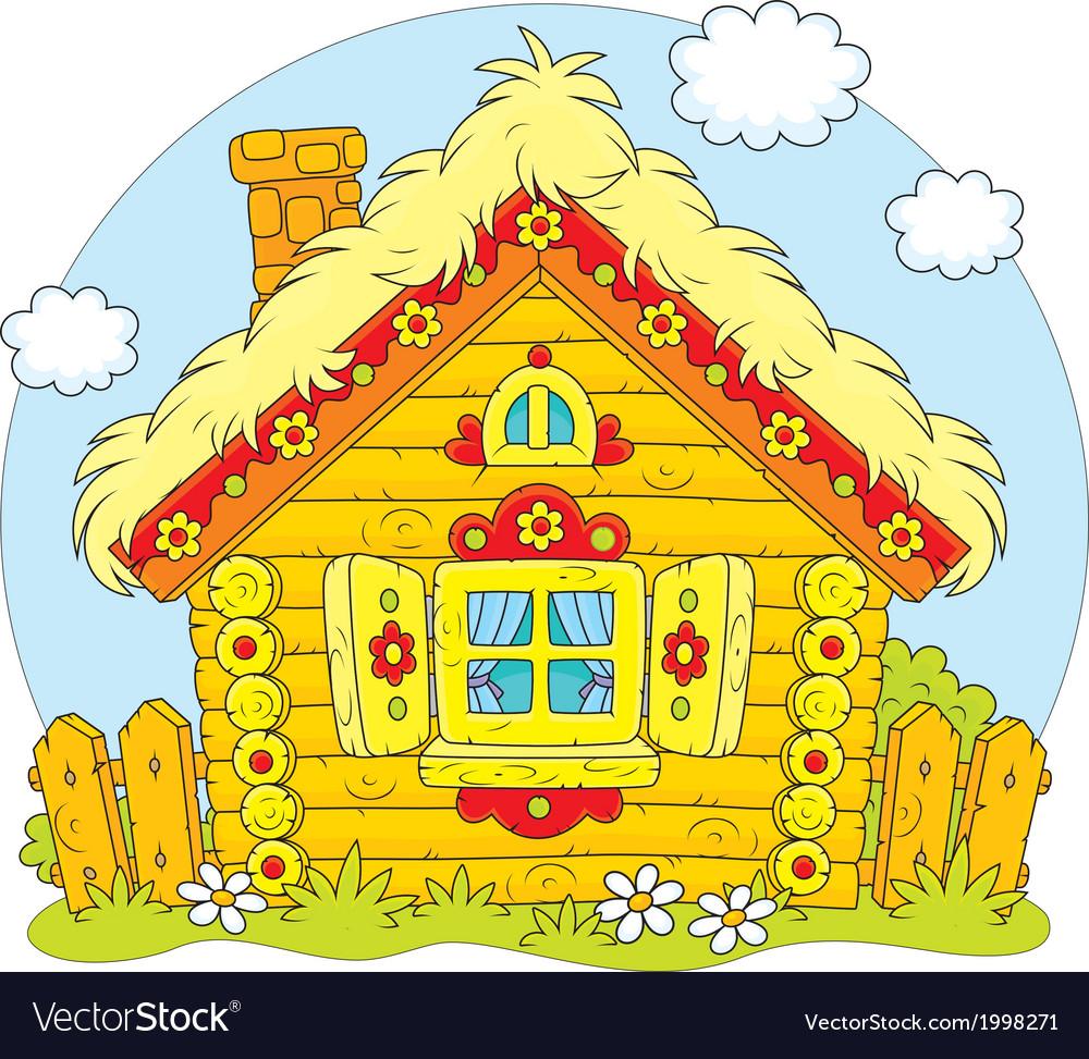 Log hut vector | Price: 1 Credit (USD $1)