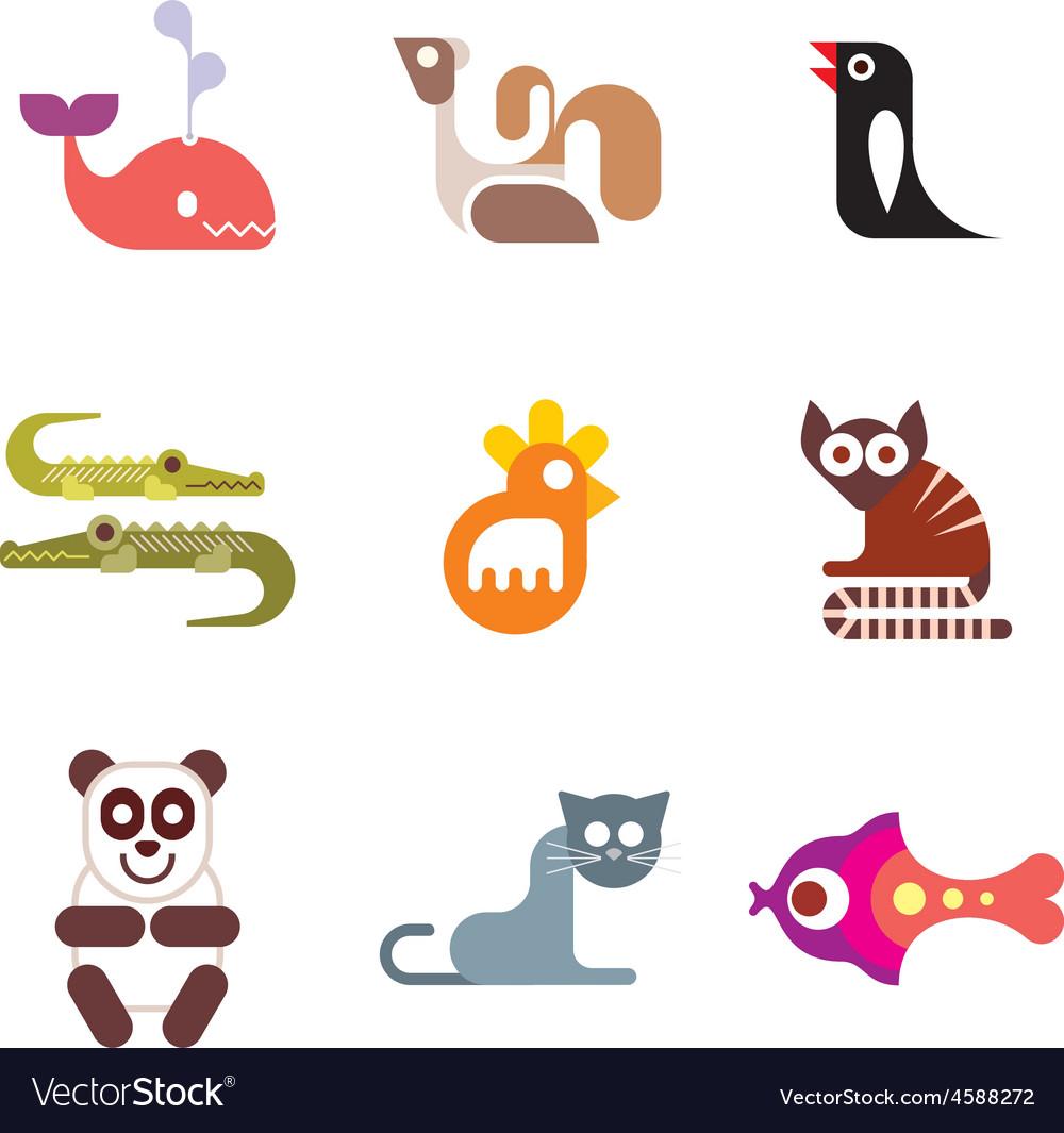 Animals 11 vector | Price: 1 Credit (USD $1)