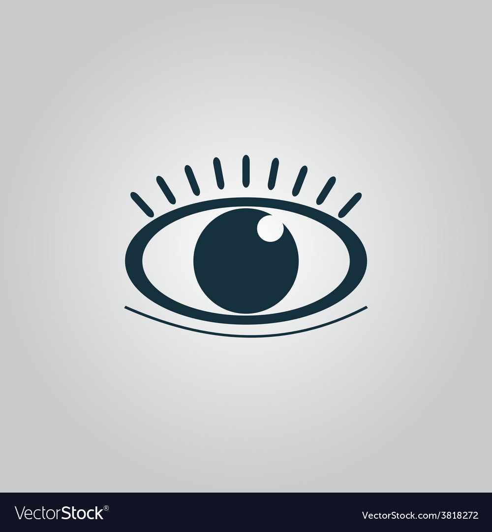 Icon - human eye vector | Price: 1 Credit (USD $1)
