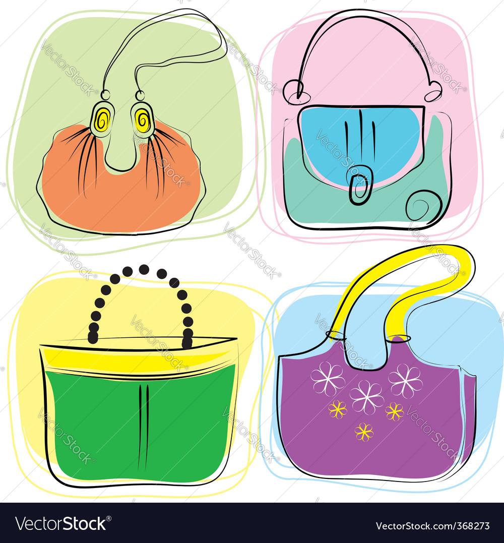 Bag drawing vector | Price: 1 Credit (USD $1)