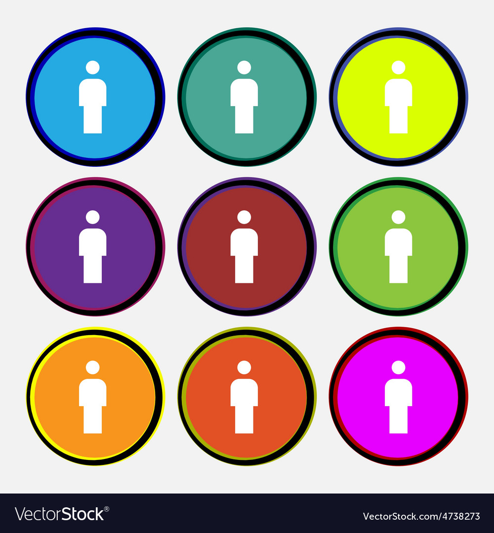 Human man person male toilet vector | Price: 1 Credit (USD $1)
