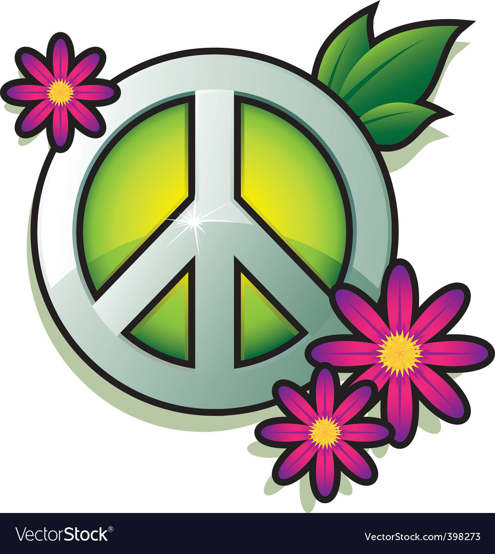 Peace sign vector | Price: 1 Credit (USD $1)