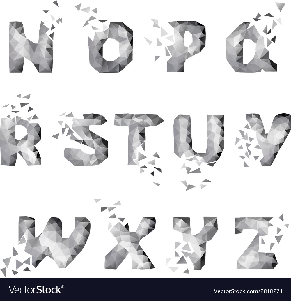 Dynamic crumble font vector   Price: 1 Credit (USD $1)