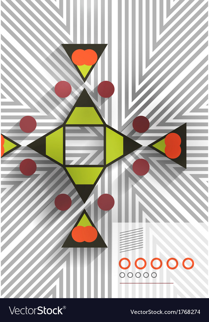 Geometric shape abstract background vector   Price: 1 Credit (USD $1)