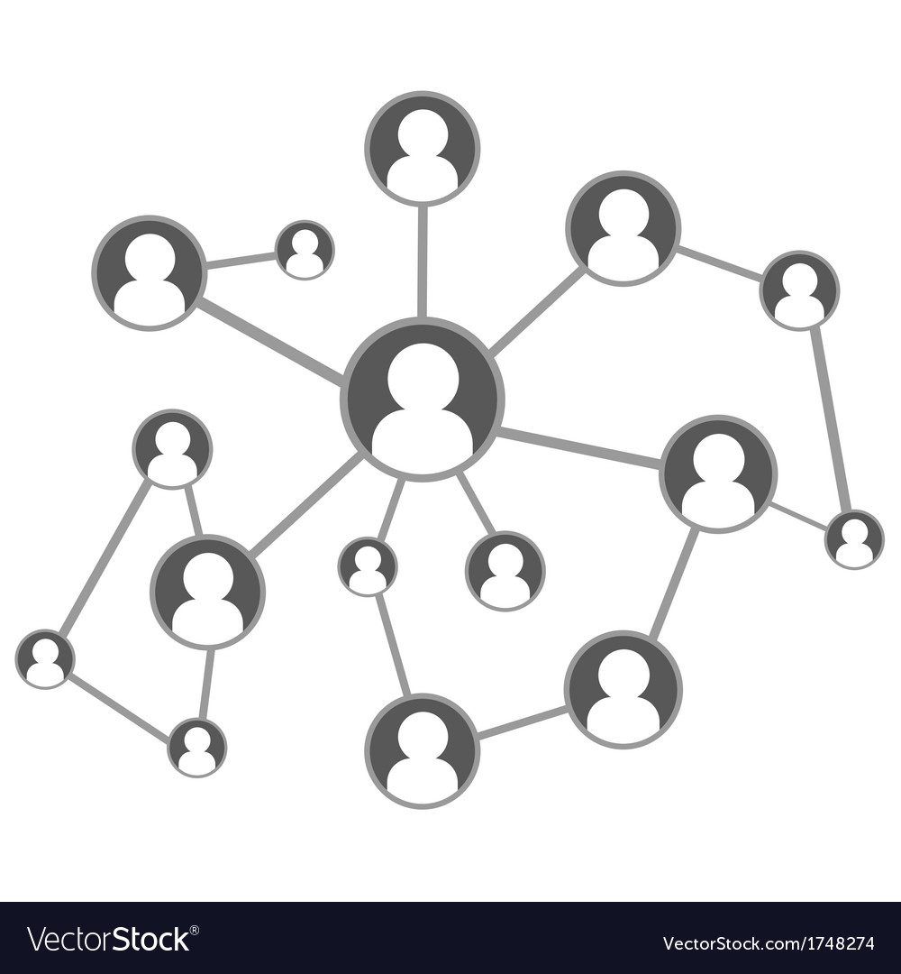 Global social network vector | Price: 1 Credit (USD $1)