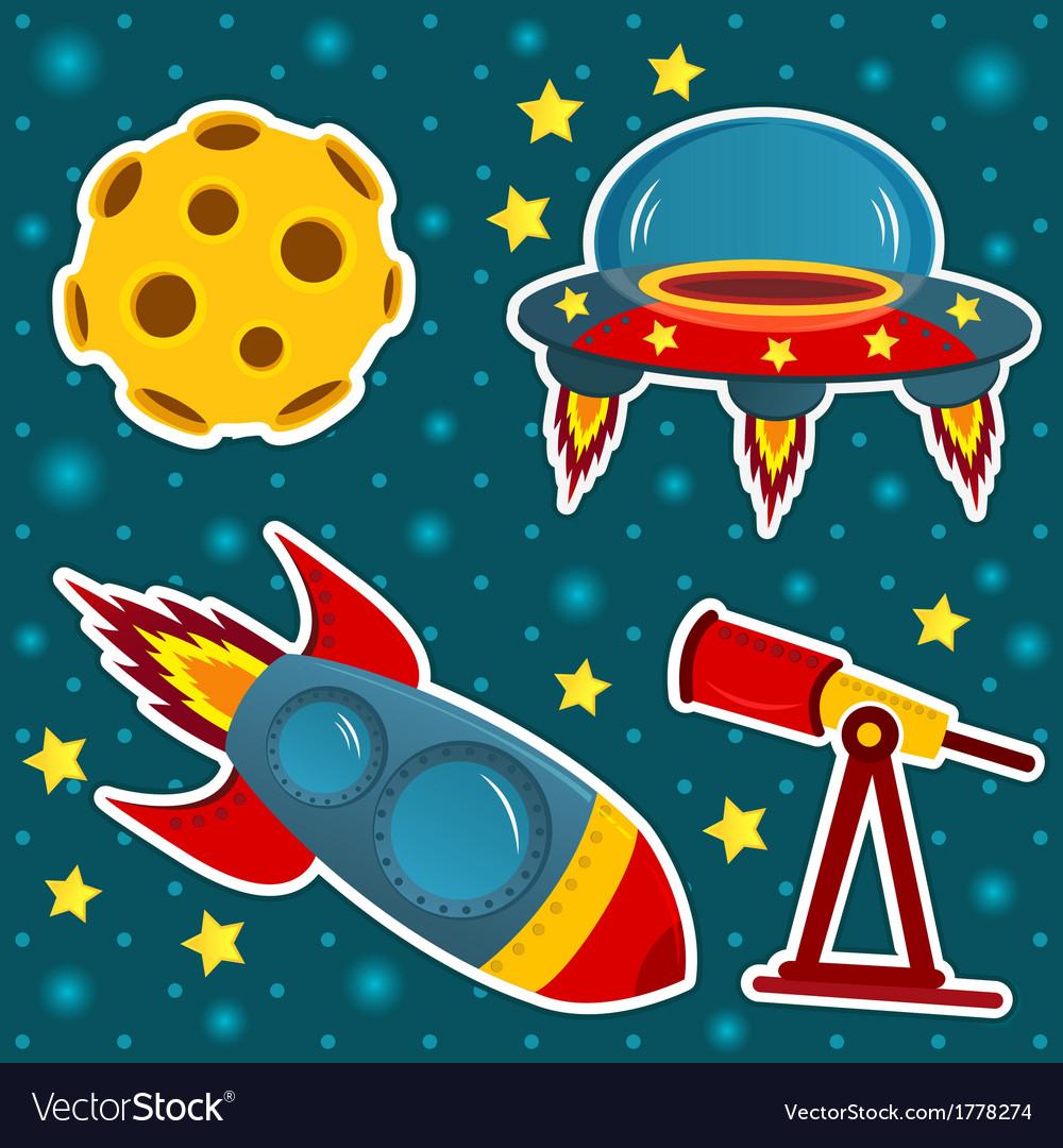 Icon set space vector   Price: 1 Credit (USD $1)