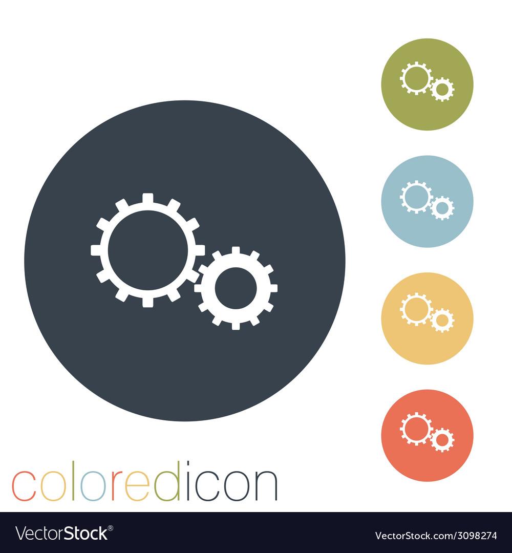 Symbol settings cogwheel vector | Price: 1 Credit (USD $1)