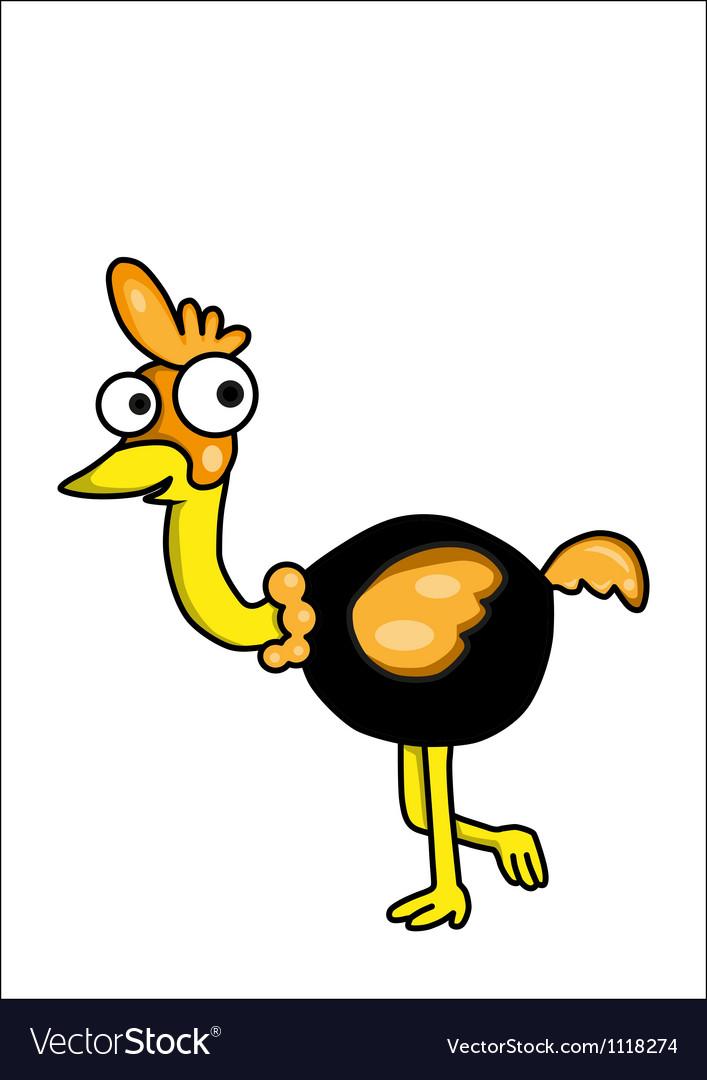Vulture cartoon vector | Price: 1 Credit (USD $1)