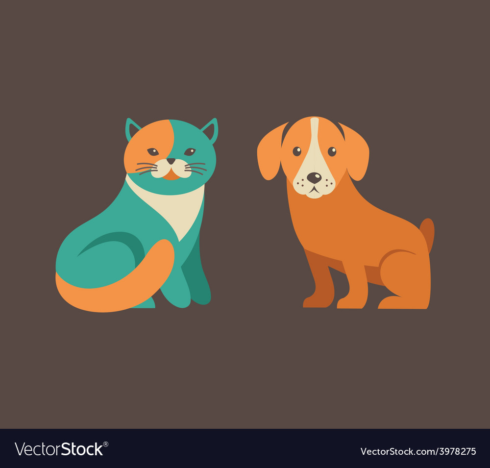 Collection of cat and dog icons and vector   Price: 1 Credit (USD $1)