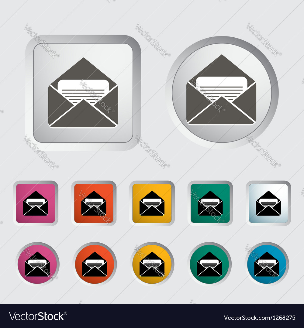 Envelope 2 vector | Price: 1 Credit (USD $1)