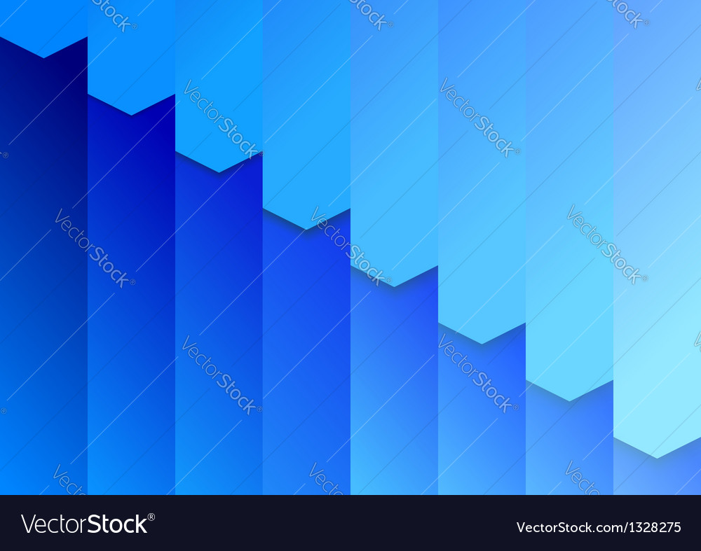 Folder background template in blue vector | Price: 1 Credit (USD $1)