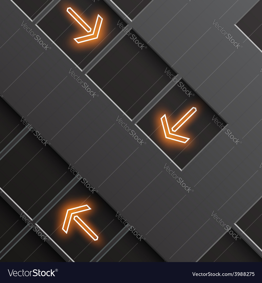 Glowing arrows indicate the direction vector | Price: 1 Credit (USD $1)