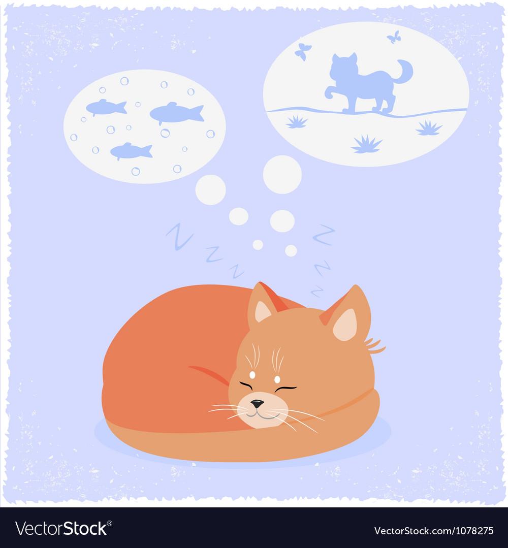Kitten vector | Price: 1 Credit (USD $1)