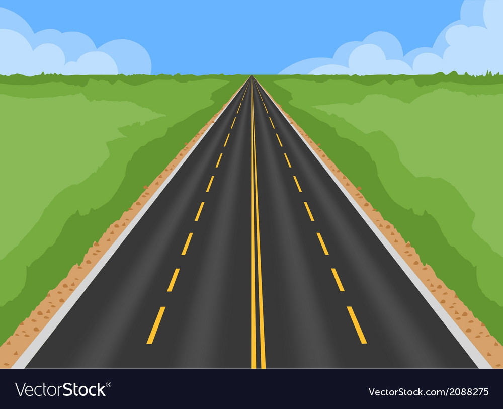 Superhighway vector | Price: 1 Credit (USD $1)