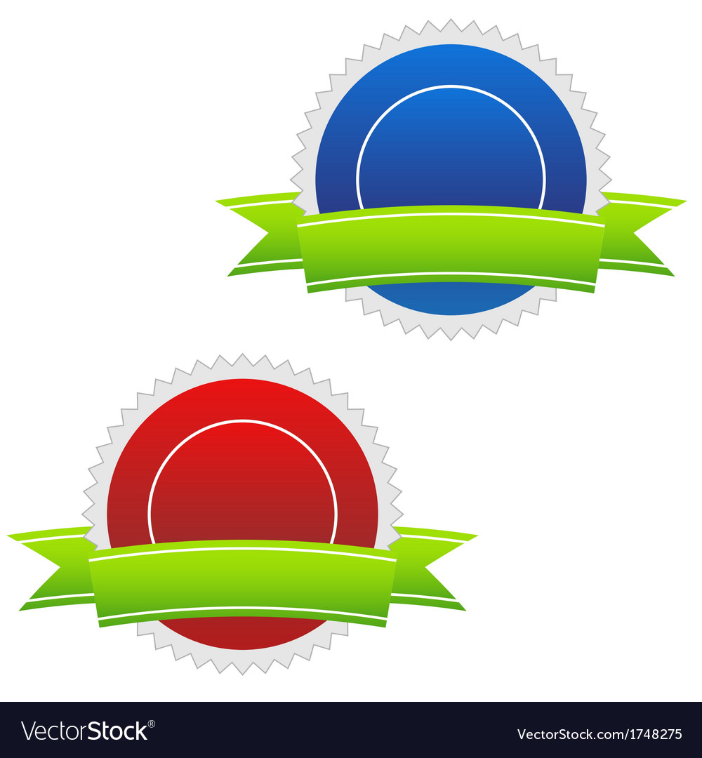 Two blank icons vector | Price: 1 Credit (USD $1)