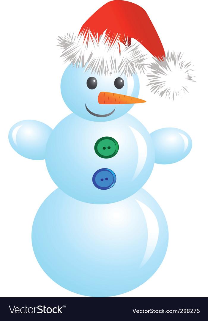 Christmas snowman vector   Price: 1 Credit (USD $1)
