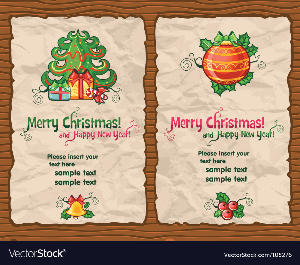 Christmas wrapping paper vector | Price: 3 Credit (USD $3)