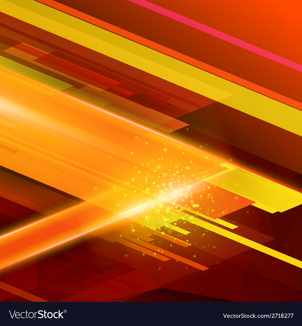 Abstract technology futuristic lines color backgro vector | Price: 1 Credit (USD $1)