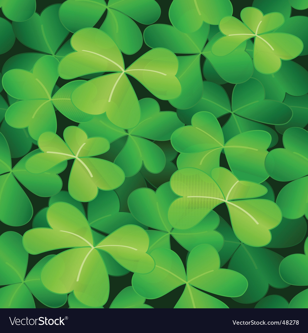 Clover pattern vector | Price: 1 Credit (USD $1)