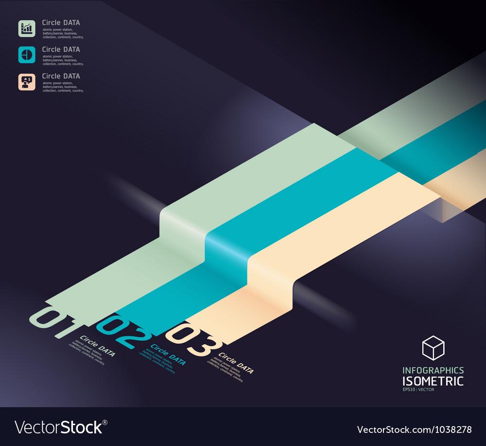Infographic arrow diagram chart vector | Price: 1 Credit (USD $1)