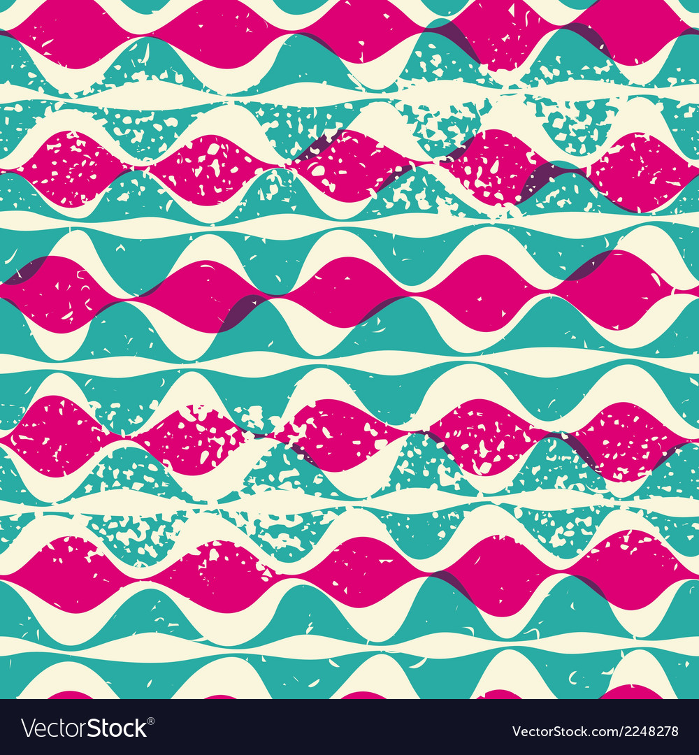 Vintage seamless pattern hipsters vector | Price: 1 Credit (USD $1)