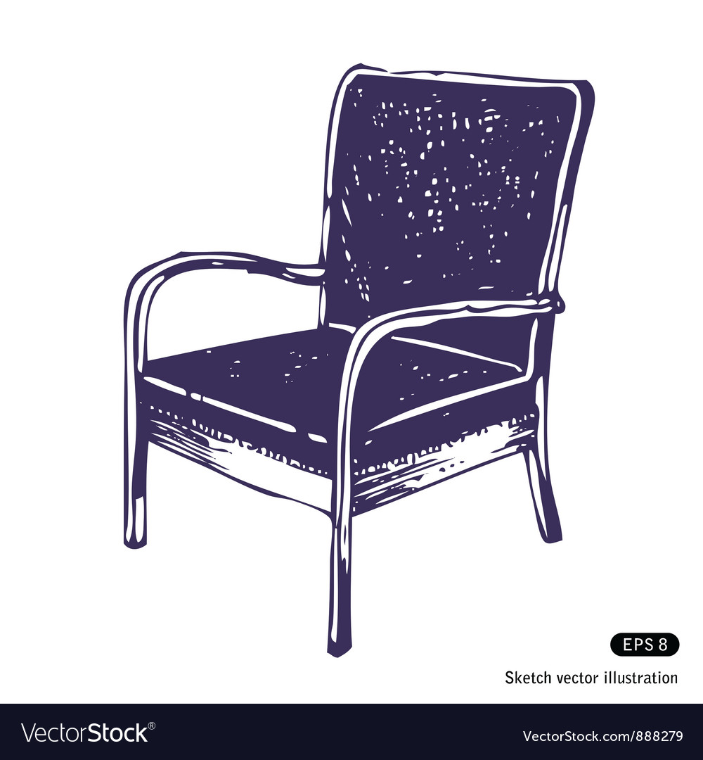 Beautiful chair vector | Price: 1 Credit (USD $1)
