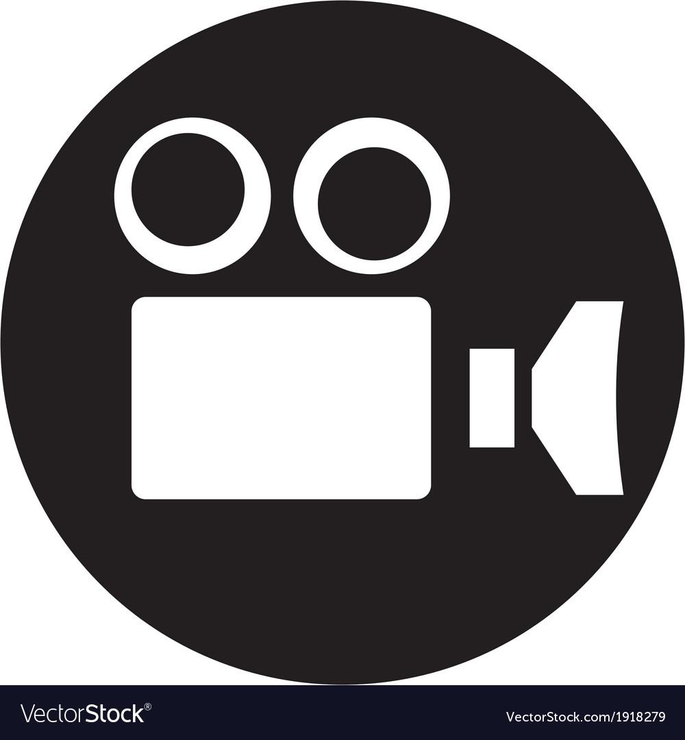 Camcorder camera icon vector | Price: 1 Credit (USD $1)