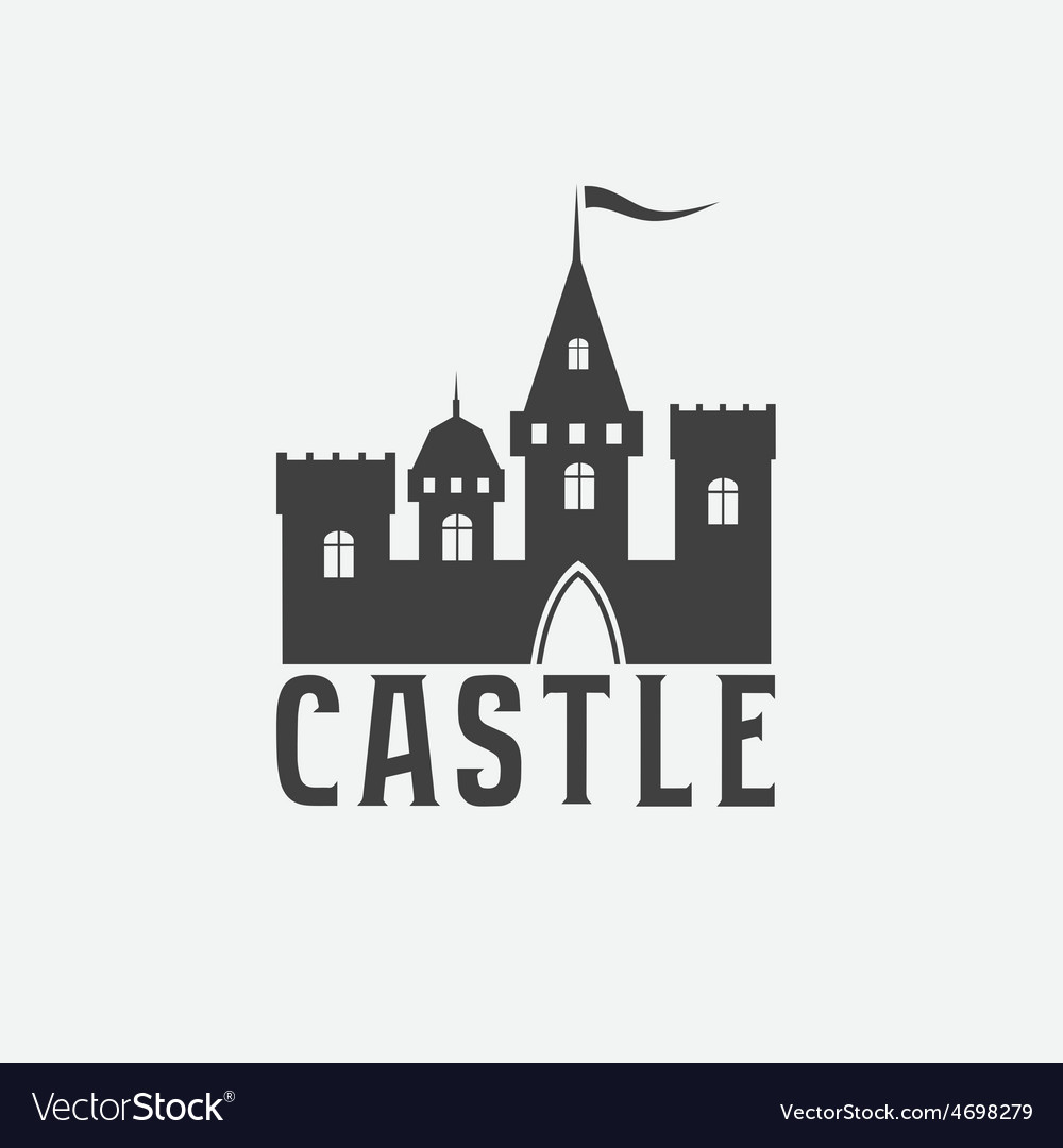 Castle abstract design template vector | Price: 1 Credit (USD $1)