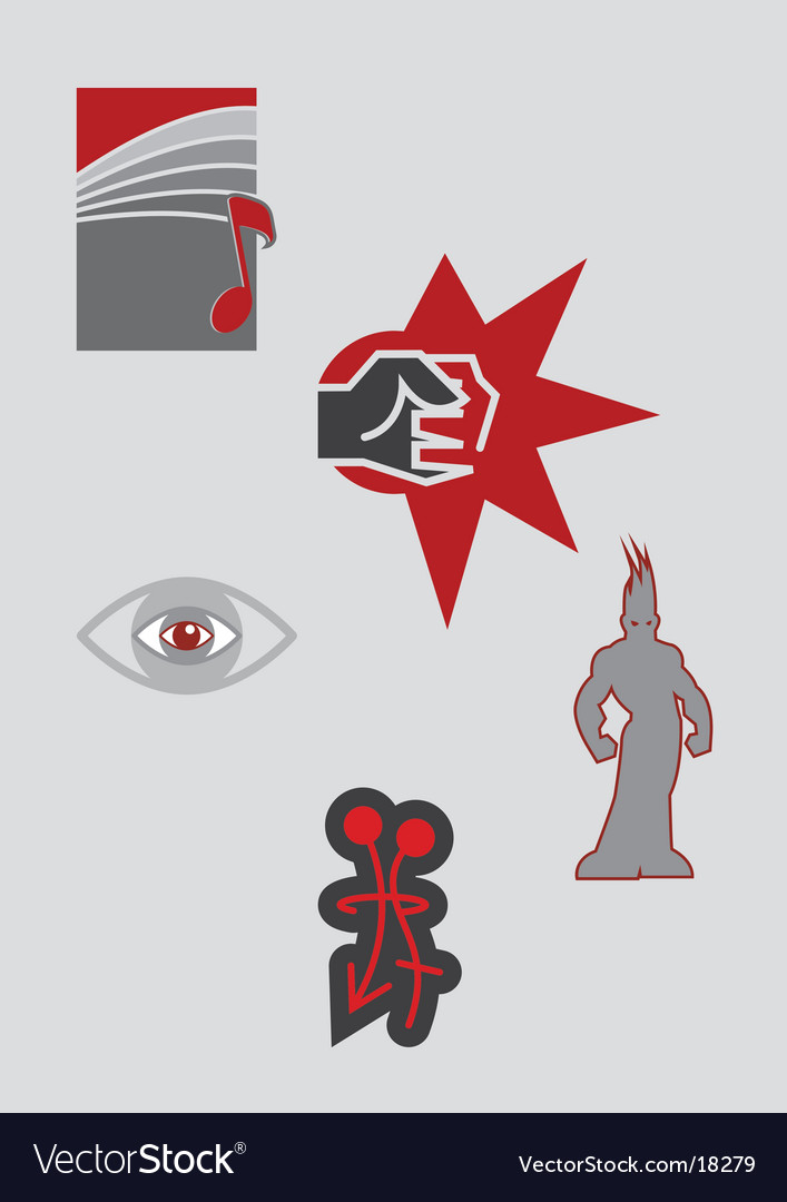 General icons vector | Price: 1 Credit (USD $1)