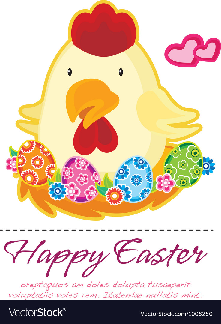 Easter chick vector | Price: 3 Credit (USD $3)