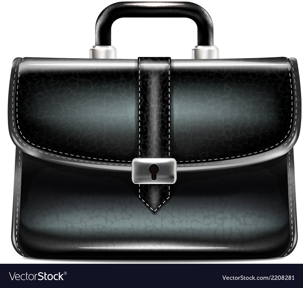 Black business case vector | Price: 1 Credit (USD $1)
