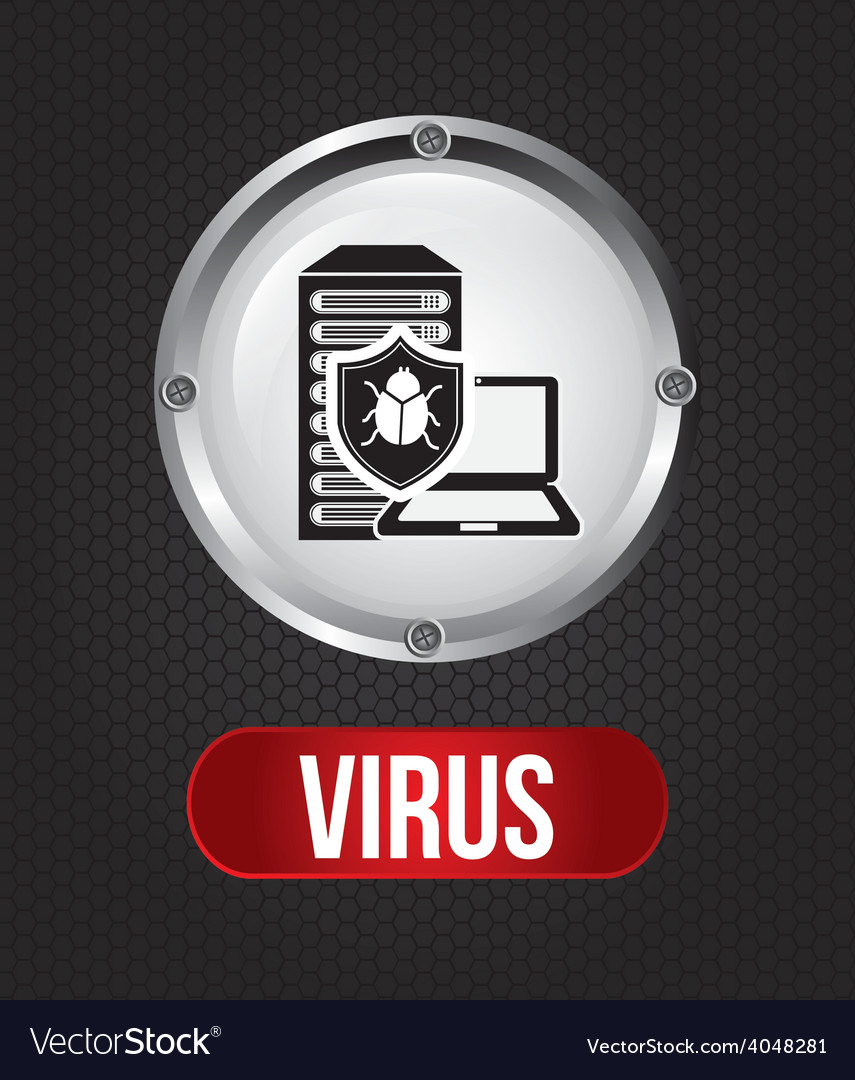 Computer virus vector | Price: 1 Credit (USD $1)
